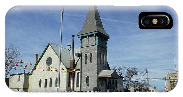 Iglesia Metodista Unida Church IPhone Case