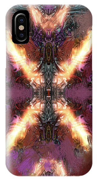 IPhone Case featuring the digital art Ignition by Reed Novotny