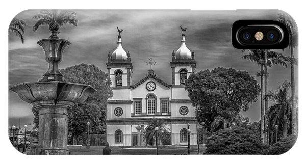 Igreja Da Matriz- Vassouras-rj IPhone Case