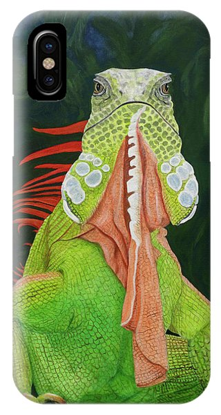 Iguana Dude IPhone Case