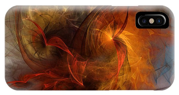 Abstract Expression iPhone Case - Ikarus by Karin Kuhlmann