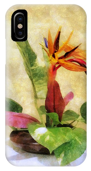 Ikebana Bird Of Paradise IPhone Case