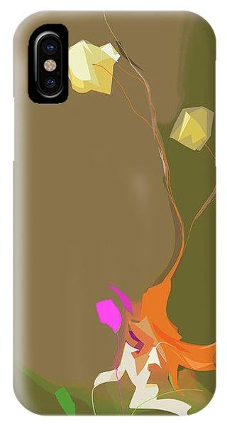 Ikebana Humoresque IPhone Case
