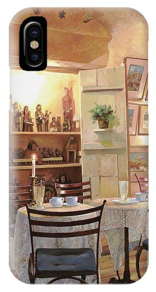 Chair iPhone Case - Il Caffe Dell'armadio by Guido Borelli