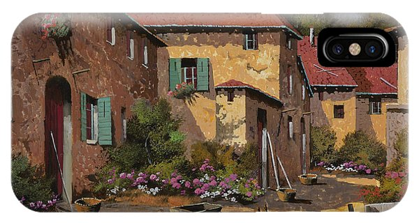 Farm iPhone Case - Il Carretto by Guido Borelli