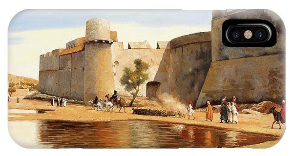 Castle iPhone X Case - Il Castello by Guido Borelli