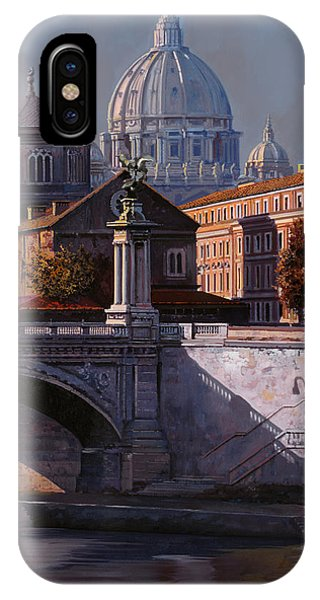 River iPhone Case - Il Cupolone by Guido Borelli