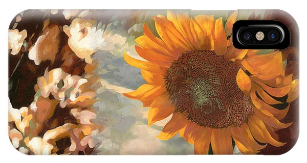 Summer iPhone X Case - Il Girasole by Guido Borelli