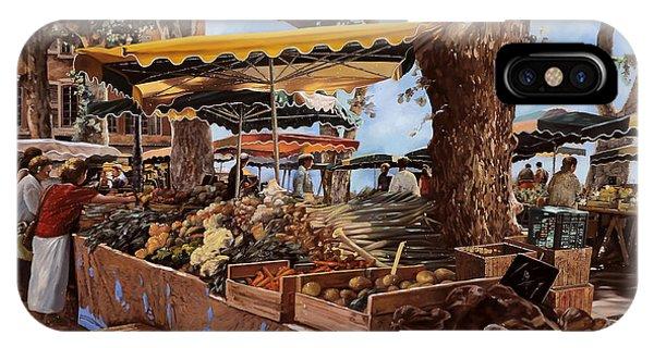 Market iPhone Case - il mercato di St Paul by Guido Borelli
