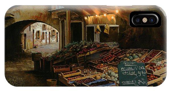 Market iPhone Case - Il Mercato Francese by Guido Borelli