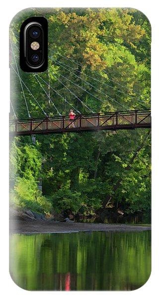 Ilchester-patterson Swinging Bridge IPhone Case