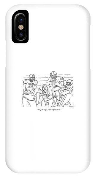 I'll Fake Patriotism IPhone Case