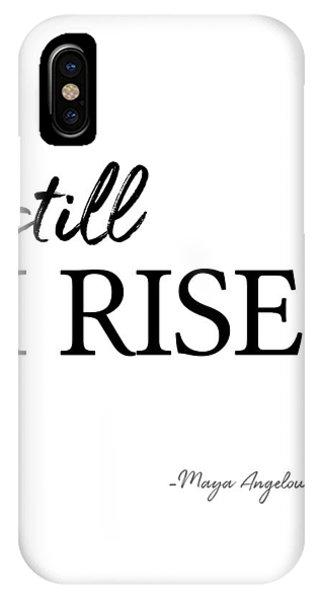 I'll Rise #minimalism 3 IPhone Case