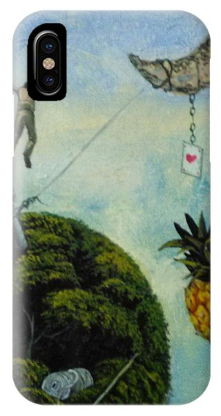 Illusions That Fall At Dawn IPhone Case
