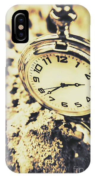 Close-up iPhone Case - Illusive Time by Jorgo Photography - Wall Art Gallery