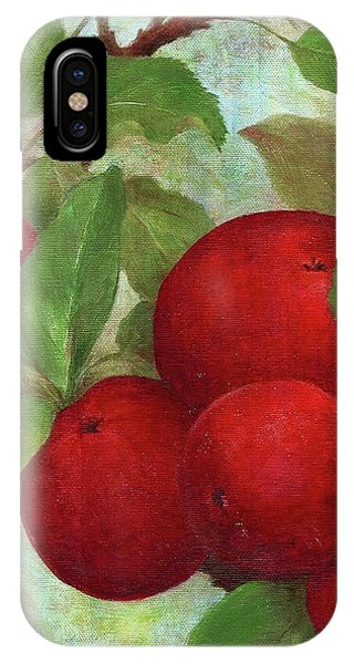 Illustrated Apples IPhone Case