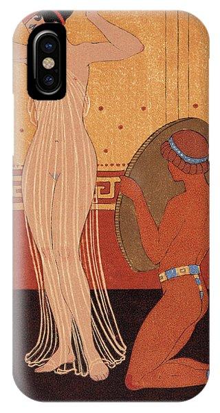 Illustration From Les Chansons De Bilitis IPhone Case