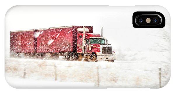 Trucking iPhone Case - I'm Coming Home by Theresa Tahara
