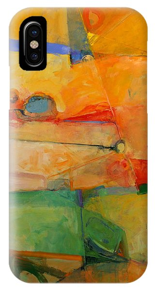 IPhone Case featuring the painting I'm In Corn  by Cliff Spohn