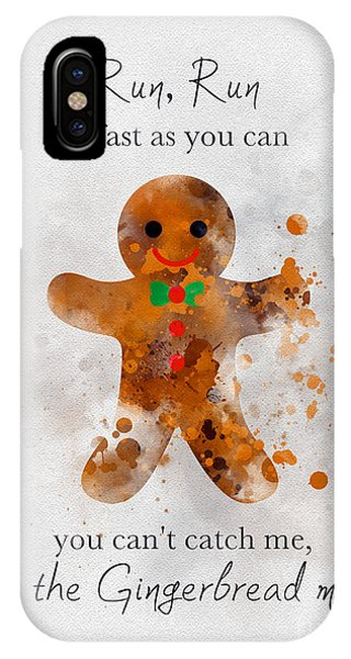 Fairy iPhone Case - I'm The Gingerbread Man by My Inspiration