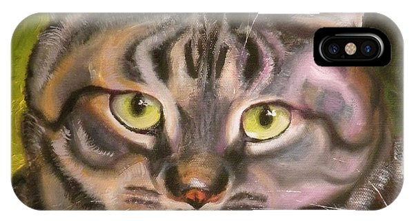 Im Your Man Tabby IPhone Case