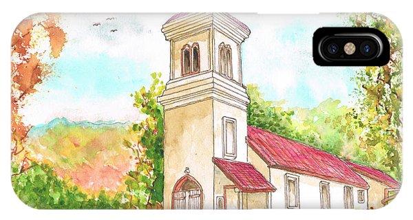 Immaculate Concepcion Catholic Church, Sierra Nevada, California IPhone Case