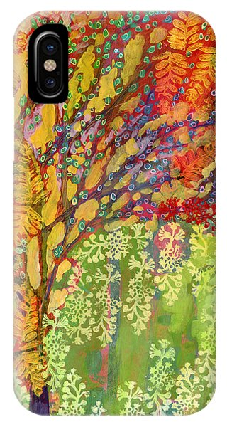 Abstract Landscape iPhone Case - Immersed In Summer Part 2 Of 3 by Jennifer Lommers