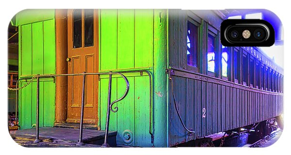 Passenger Train iPhone Case - Immigrant Passenger Car by Garry Gay