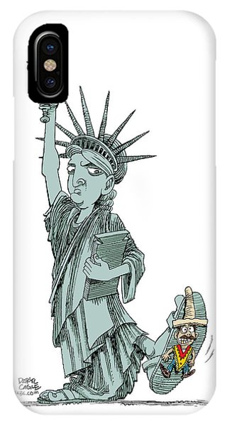 Immigration And Liberty IPhone Case