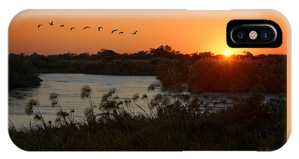 Impalila Island Sunrise IPhone Case