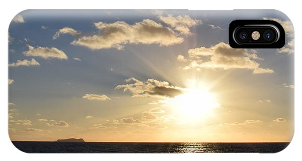 Sunset Reflection At Imperrial Beach IPhone Case