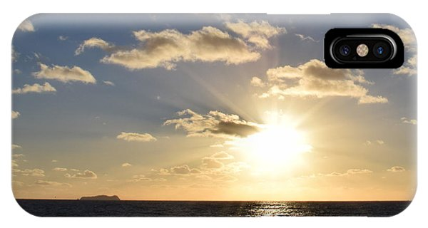 Imperial Beach Sunset Reflection IPhone Case