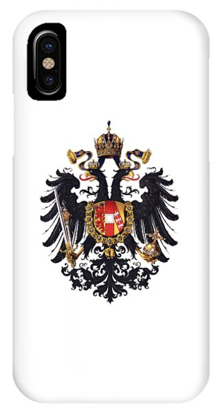 Imperial Coat Of Arms Of The Empire Of Austria-hungary 1815 Transparent IPhone Case