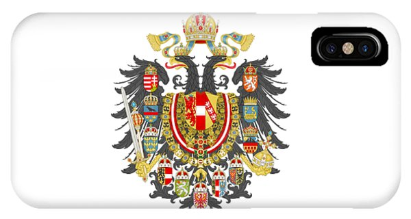 Imperial Coat Of Arms Of The Empire Of Austria-hungary Transparent IPhone Case