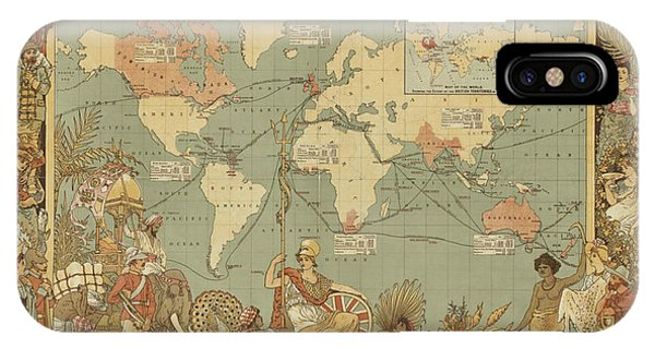 Imperial Map IPhone Case