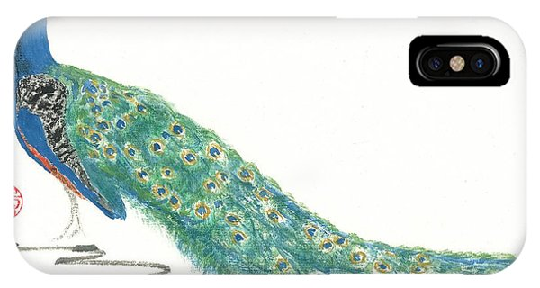 Imperial Peacock IPhone Case