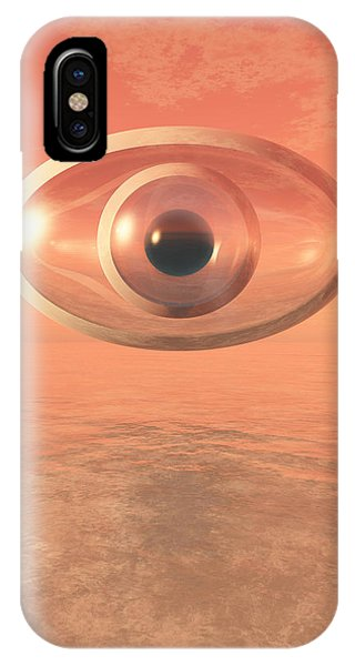 Impossible Eye IPhone Case