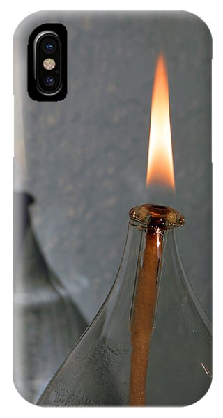 Impossible Shadow Oil Lamp IPhone Case