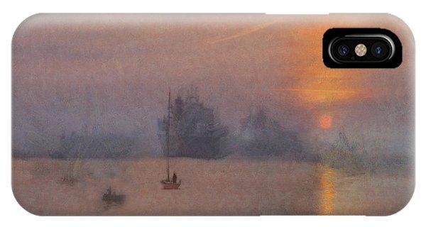 Impression Solent Leviathans IPhone Case