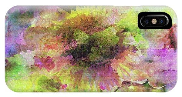 Impression Sunflower IPhone Case