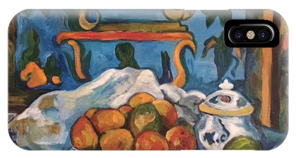 IPhone Case featuring the painting Impressionism by Janelle Dey