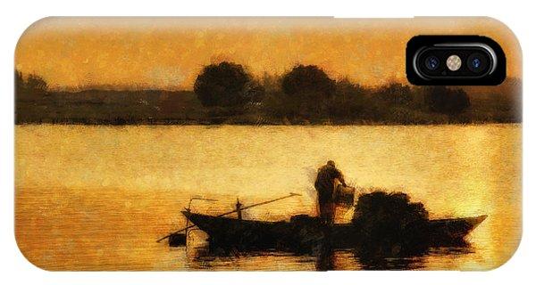 Impressionist Dawn IPhone Case