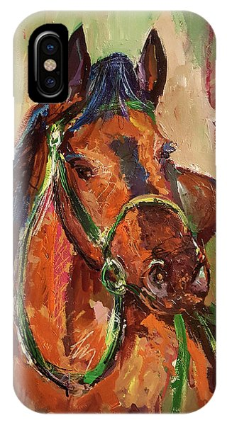 Impressionist Horse IPhone Case