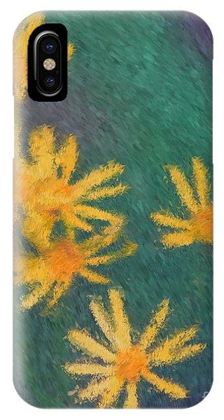 Impressionist Yellow Wildflowers IPhone Case