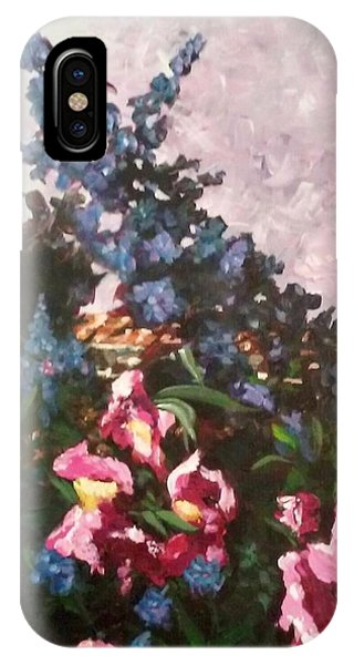 Impressionistic Flowers IPhone Case