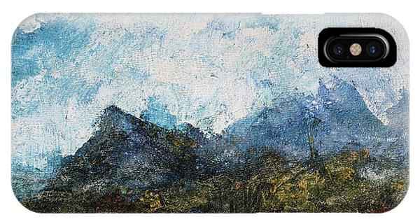 Impressionistic Landscape IPhone Case
