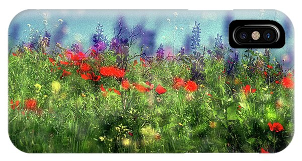 Impressionistic Springtime IPhone Case