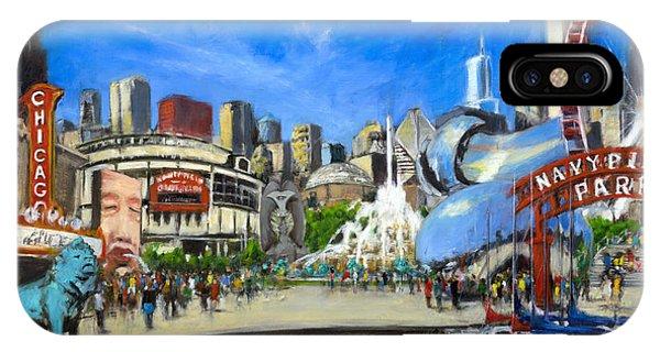 Impressions Of Chicago IPhone Case