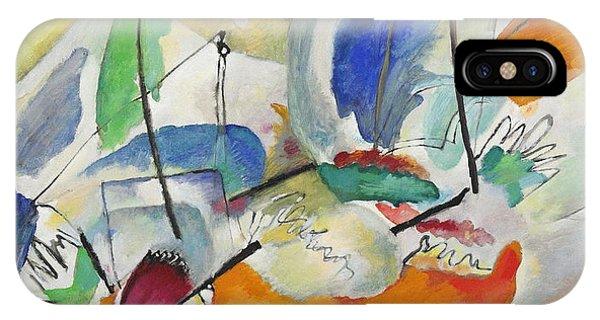 Endless iPhone Case - Improvisation  Sea Battle by Wassily Kandinsky