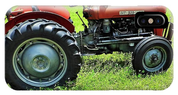 Imt 539 Tractor IPhone Case